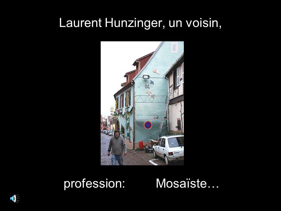 Non, nous sommes bien en Alsace. Tous les recoins sont utilisés.