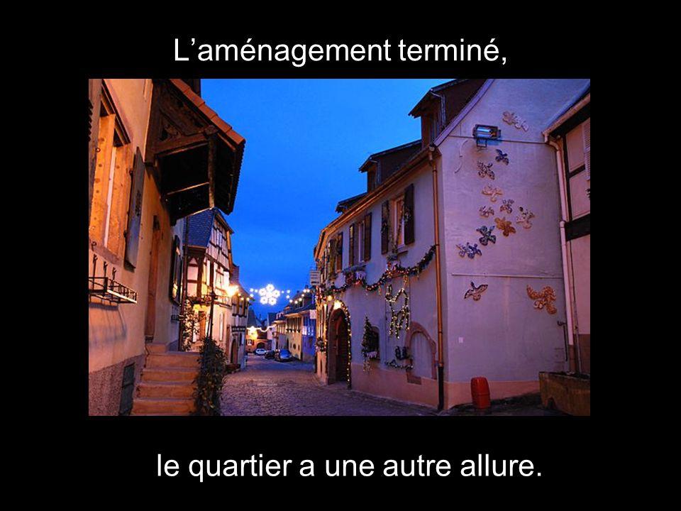 Cest le petit monde à Béatrice, où chaque centimètre est utilisé.