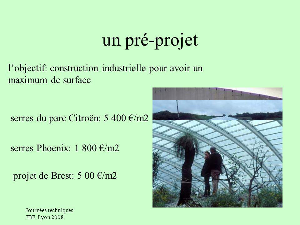 Journées techniques JBF, Lyon 2008 un partenariat entre la ville et le conservatoire une aide technique: contact avec les projets en cours ou existants une caution scientifique (pour la cohérence du projet, comité scientifique, obtention des végétaux, comité phytosanitaire)