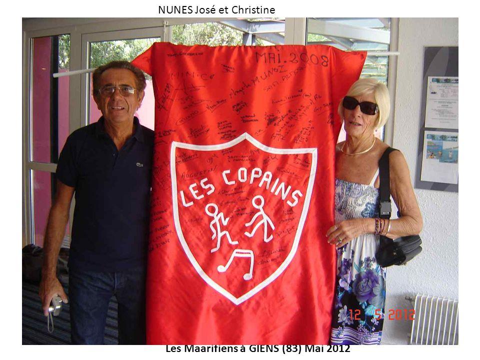 Les Maarifiens à GIENS (83) Mai 2012 NUNES José et Christine