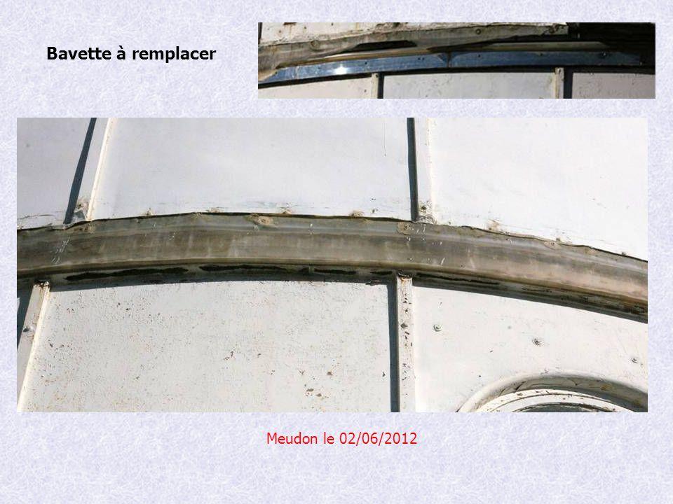 Meudon le 02/06/2012 Bavette à remplacer