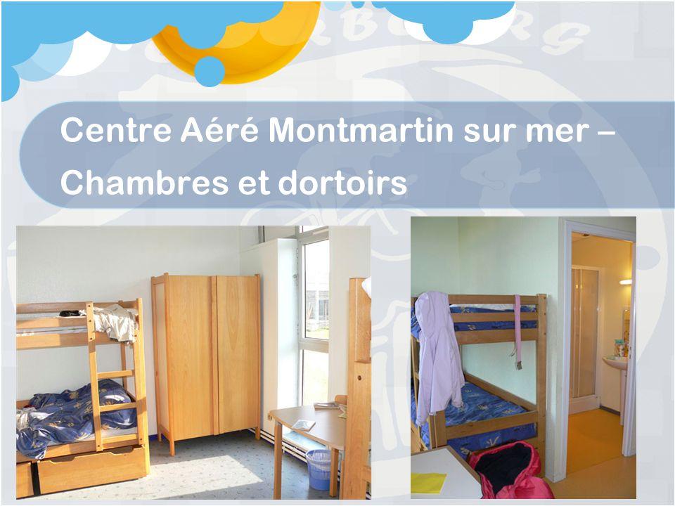 Centre Aéré Montmartin sur mer – Chambres et dortoirs