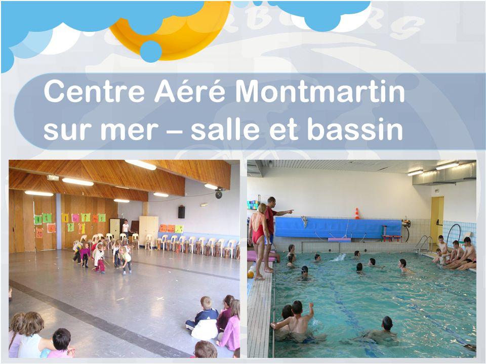 Centre Aéré Montmartin sur mer – salle et bassin