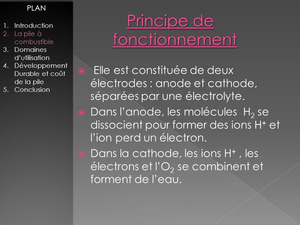 Tracteur : Tracteur : Prototype présenté par : Loïc Morel http://www.terre-net.fr PLAN 1.Introduction 2.La pile à combustible 3.Domaines dutilisation 4.Développement Durable et coût de la pile 5.Conclusion PLAN 1.Introduction 2.La pile à combustible 3.Domaines dutilisation 4.Développement Durable et coût de la pile 5.Conclusion Silencieux Aucune émission de CO 2 Production deau sous forme de vapeur.