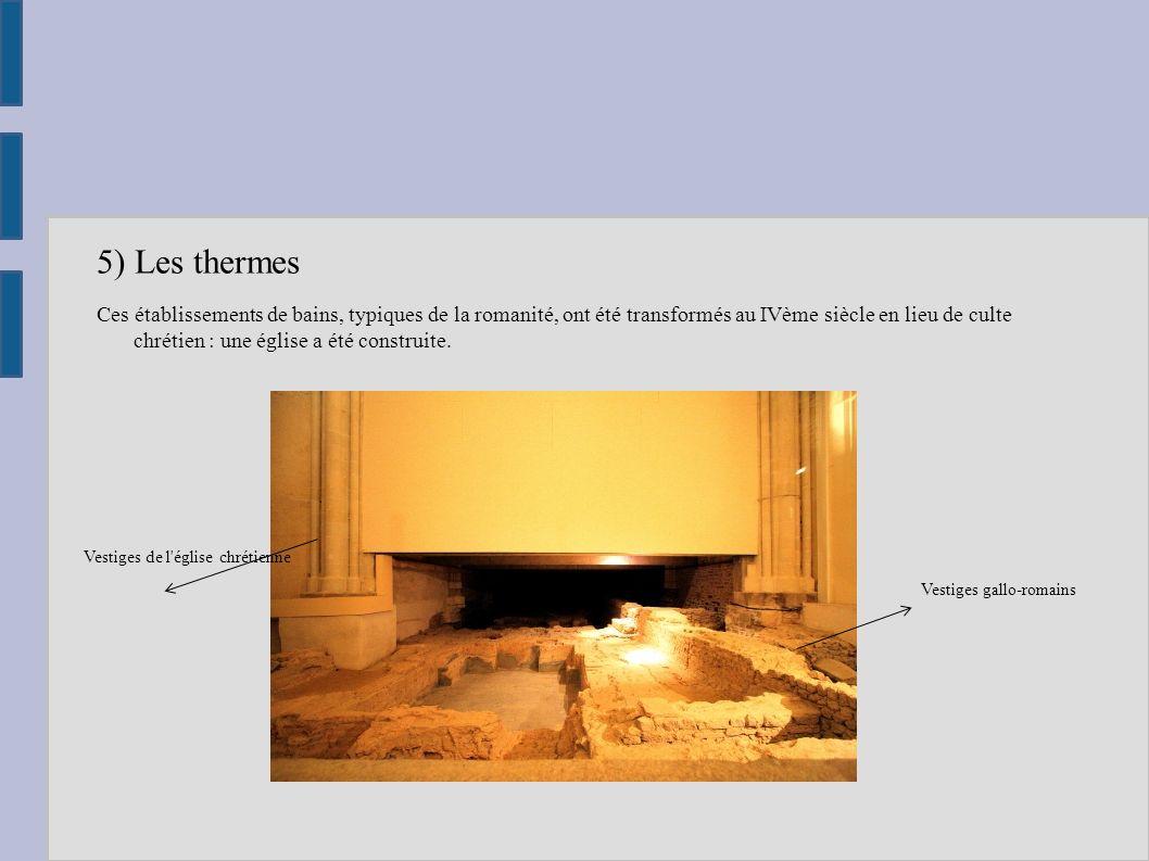 6) Le musée Situé non loin de l entrepôt, il présente des collections d objets archéologiques issus des différentes fouilles du site, une maquette de l ensemble du site, des bornes interactives, une video.