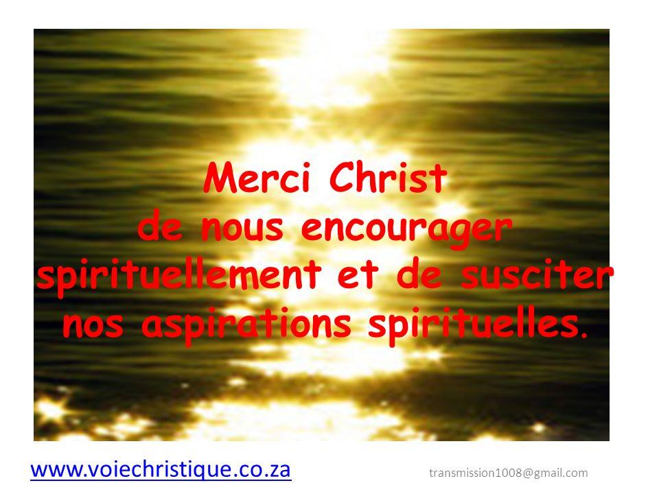 Notre seul espoir est de suivre LA VOIE CHRISTIQUE.