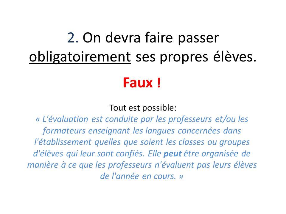 13.La présentation orale sappuie sur un thème choisi par lenseignant-évaluateur.