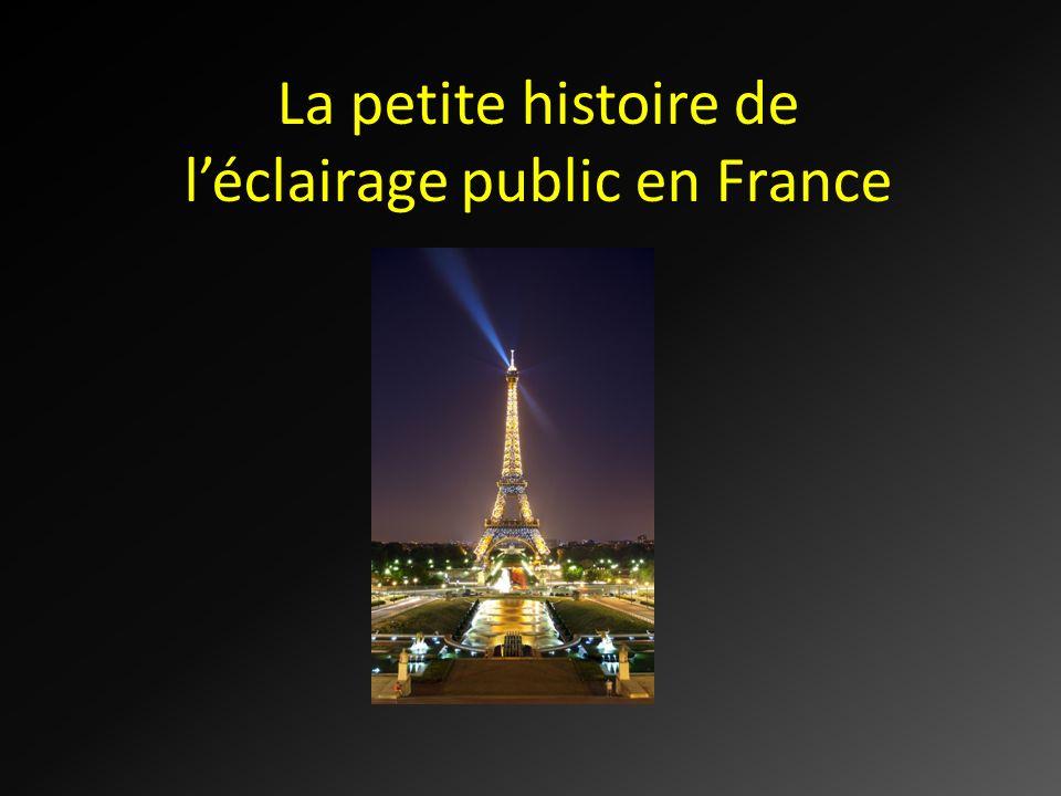 La petite histoire de léclairage public en France