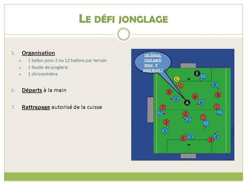 L E DÉFI JONGLAGE 5.