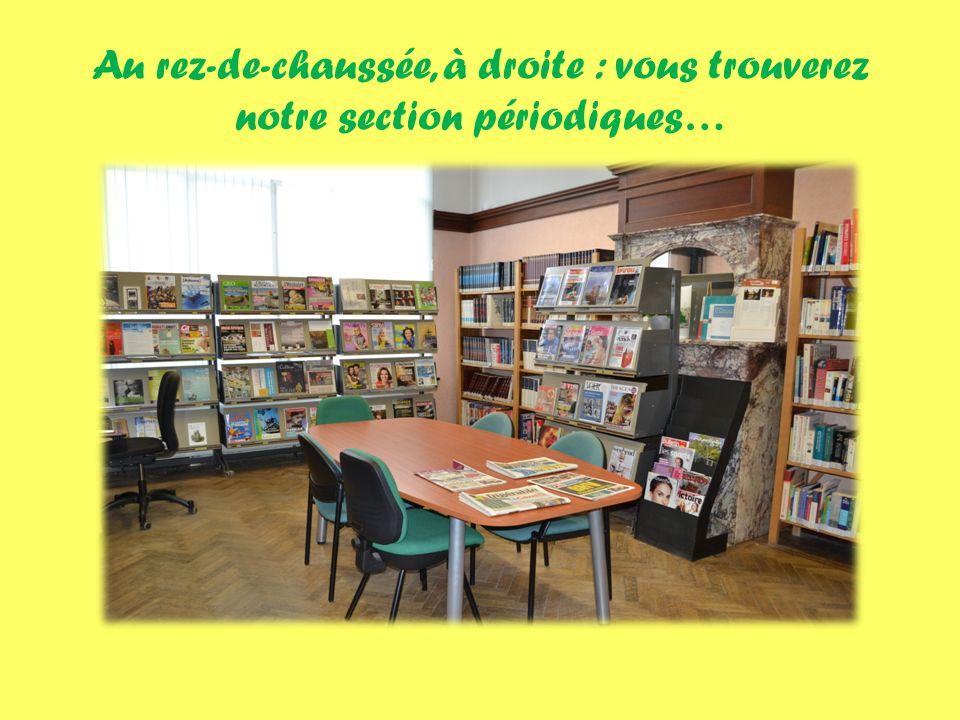 …et notre salle de lecture