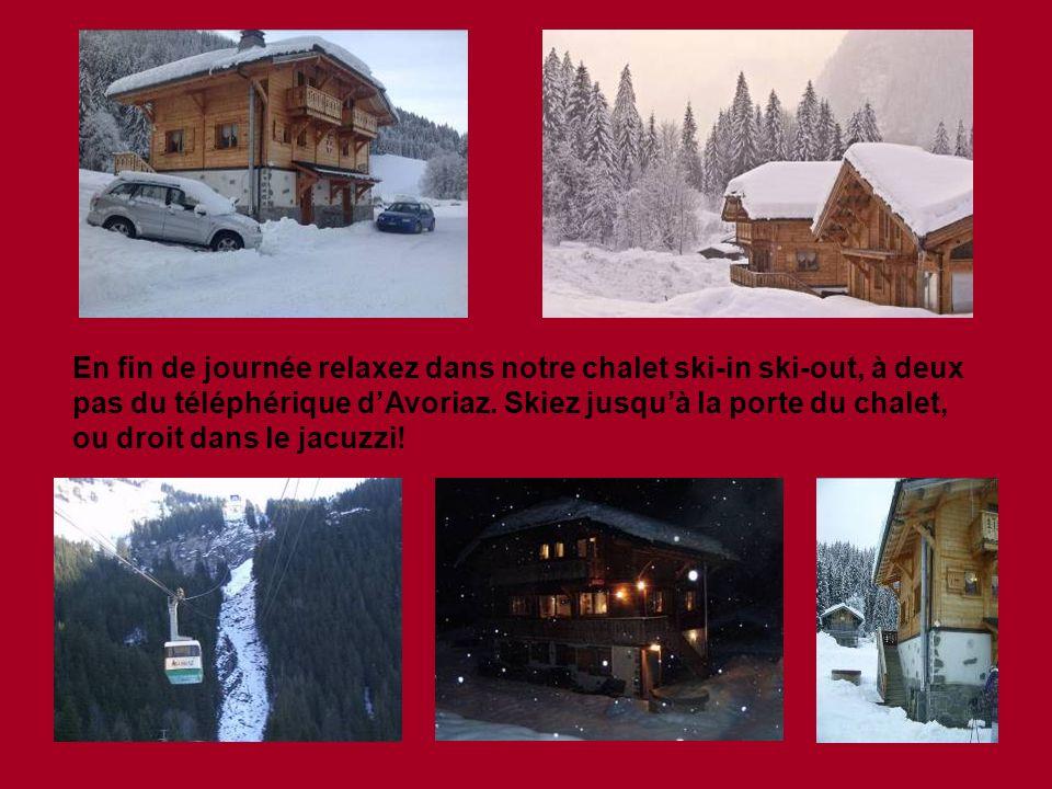 Le dernier jour nous skierons Le Grand Tour, le circuit des Portes du Soleil qui nous amènera dans la plupart des stations couvrant le domaine skiable Français et Suisse.