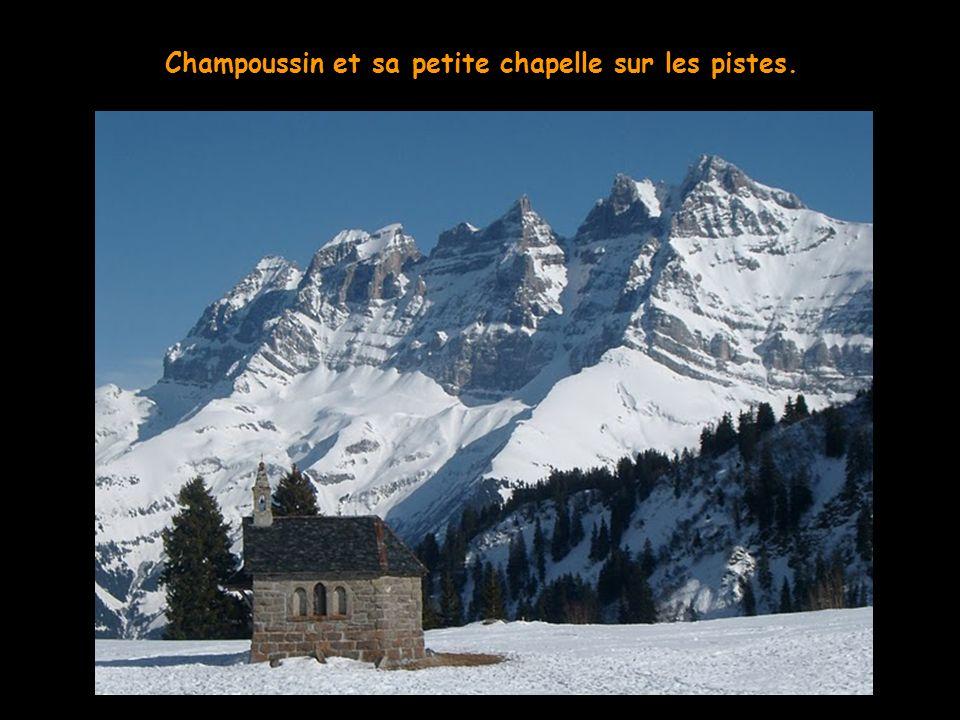 Chatel-Plaine Dranse, où vous pourrez prier les Dieux de la neige.