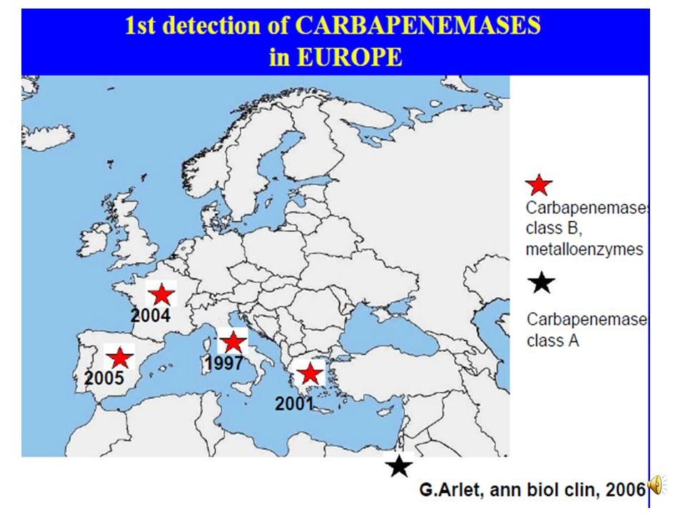 Pseudomonas aeruginosa Resistances naturelles