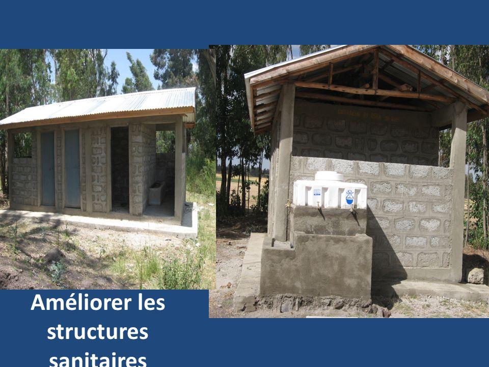 Améliorer les structures sanitaires