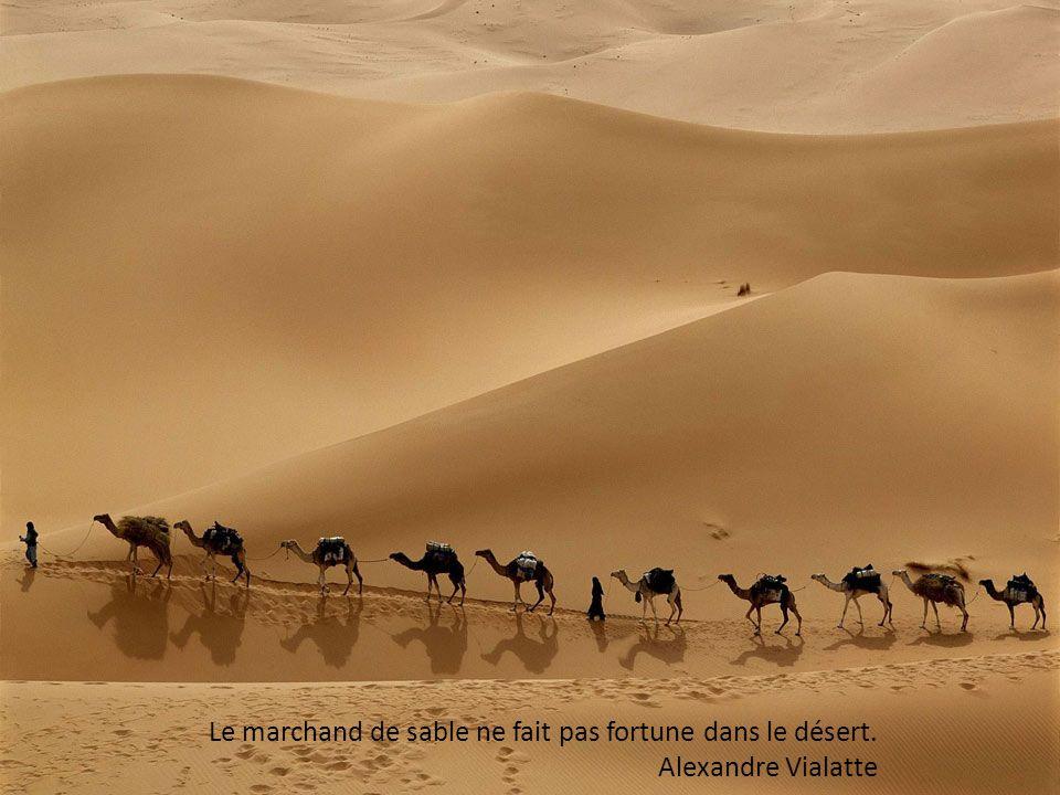 Le désert est une femme capricieuse, qui parfois rend les hommes fous. Paulo Coelho