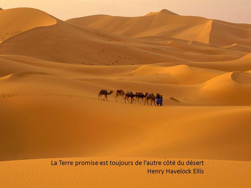 On n a jamais aussi soif qu après avoir traversé un désert qui n existe pas. Achille Chavée
