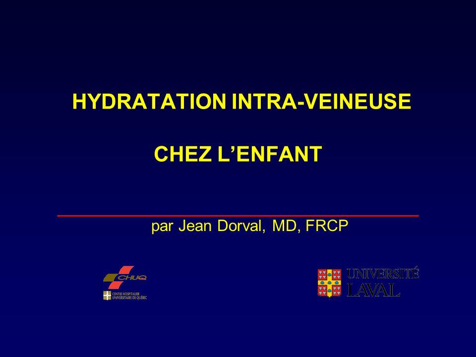 Déshydratation…suite __________________________________