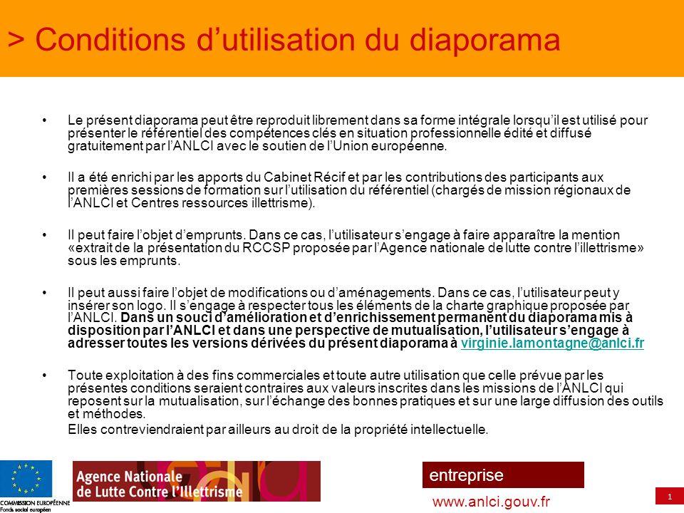 2 entreprise www.anlci.gouv.fr Une composante essentielle des politiques de formation tout au long de la vie Prévenir et lutter contre lillettrisme