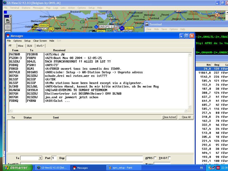 APRS Comme le packet, lAPRS utilise des « digipeaters ».