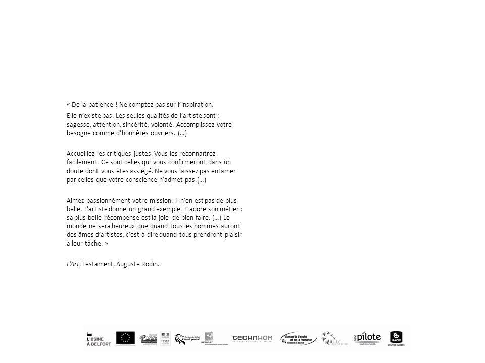 ADEBT AG Scop Alstom Power System Artenréel Boutique de gestion de Franche- Comté Caisse de dépôts et consignation La Cantine (espace de coworking à Paris) Pays de Montbéliard Agglomération Chambre de Commerce en dIndustrie du Territoire de Belfort Chambre de métiers et dartisanat CIE des Trois Chênes Conseil général du Territoire de Belfort Conseil régional de Franche-Comté Coopilote Crédit mutuel CRIB Culture Action DIRECTE DLA DRAC Eclau (espace de coworking Lausanne) École dart Gérard Jacot E2C – Ecole de la 2 e chance Entrevues Fondation MACIF Franche-Comté active Franche-Comté Interactive Une dimension partenariale forte Des partenariats sont en cours avec certaines de ces structures.