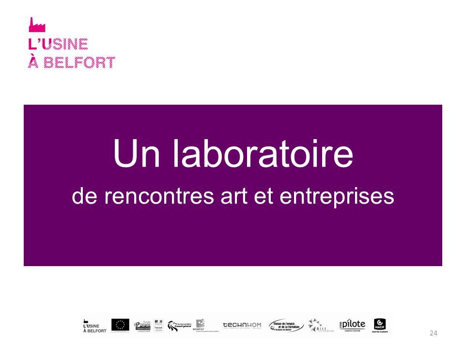 24 Un laboratoire de rencontres art et entreprises