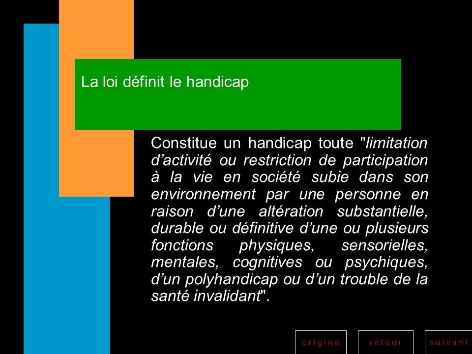 r e t o u rs u i v a n to r i g i n e Maison départementale des personnes handicapées M.D.P.H.