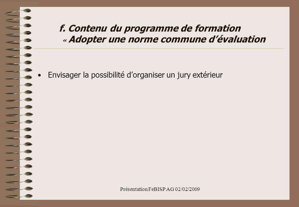 Présentation FeBISP AG 02/02/2009 f.