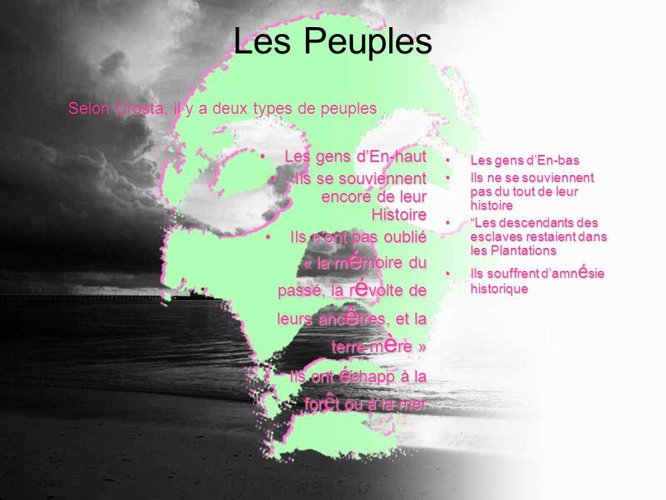 Les Peuples Les gens dEn-hautLes gens dEn-haut Ils se souviennent encore de leur HistoireIls se souviennent encore de leur Histoire Ils nont pas oubli