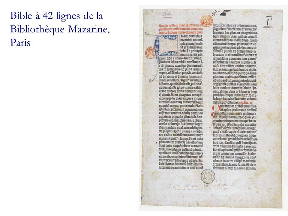 Placard contre la messe, 1534 (Musée de limprimerie, Lyon)
