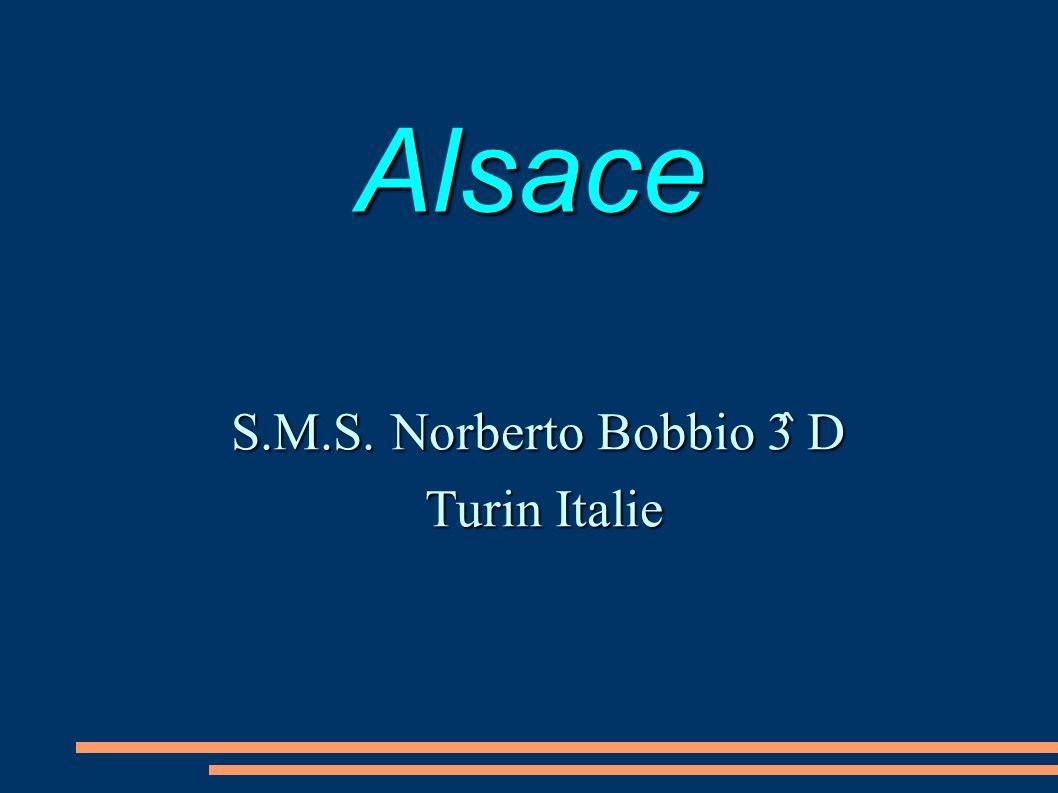 Alsace S.M.S. Norberto Bobbio 3 ̂ D Turin Italie Turin Italie