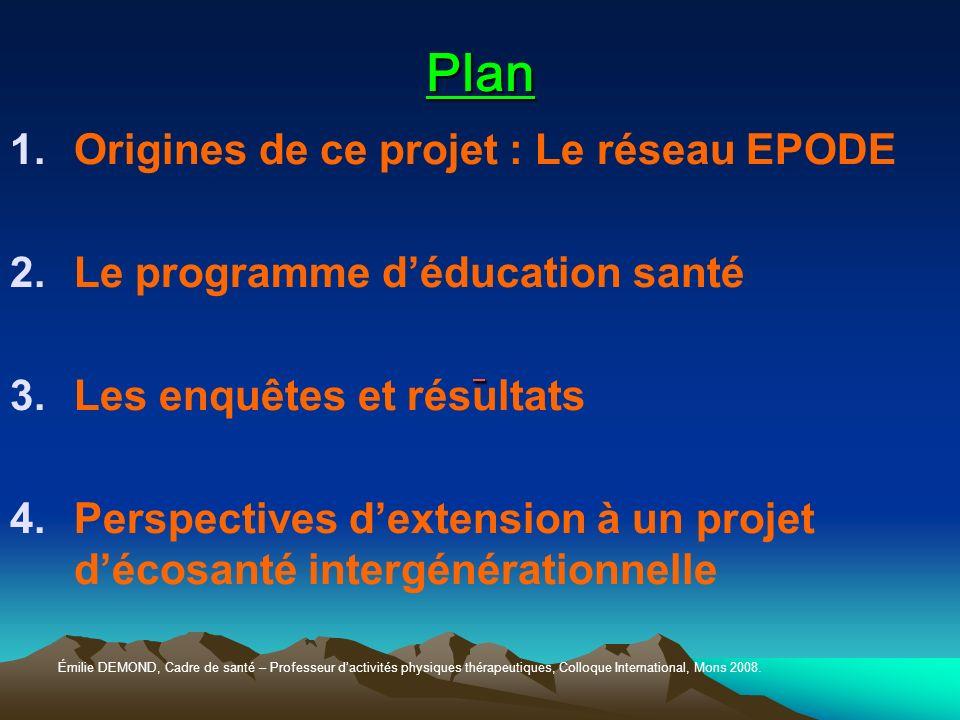 1.EPODE Laventie Fleurbaix Prévention Primaire 1992 Actions Education à lécole Soutien dacteurs locauxsanté Engagement fort villes Extension à 10 villes pilotes