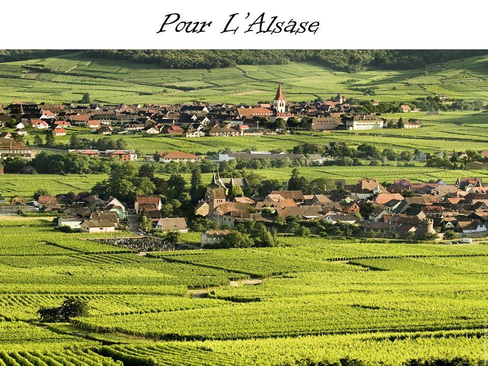 LAlsase Aujourd hui, lAlsace est divisée en deux départements, le Bas Rhin au nord et le Haut Rhin au sud.