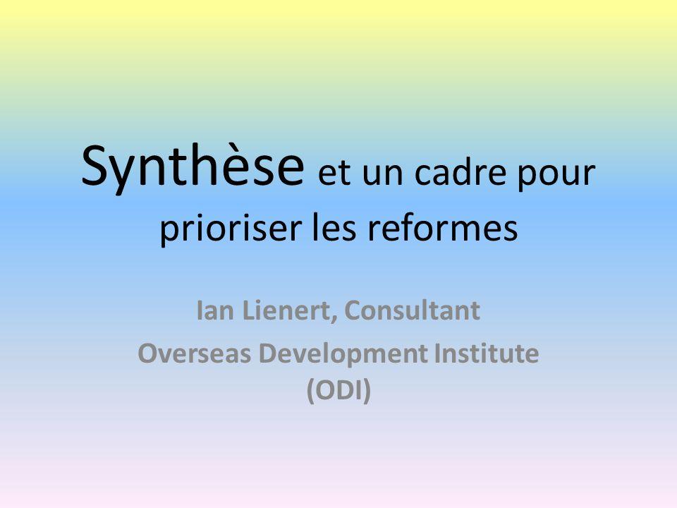 Pays de lOCDE: Synthèse La qualité du système budgétaire dans les pays de lOCDE est assez variable Le processus de reforme est lent dans certains pays (ex : Allemagne).