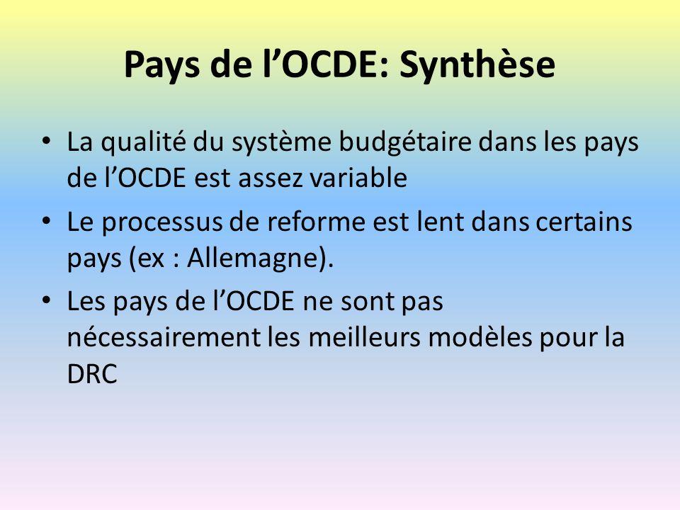 Implications pour la RDC Les expériences des pays « avancées » ne peuvent pas être imitées sans tenir compte les conditions préalables et les circonstances locales.