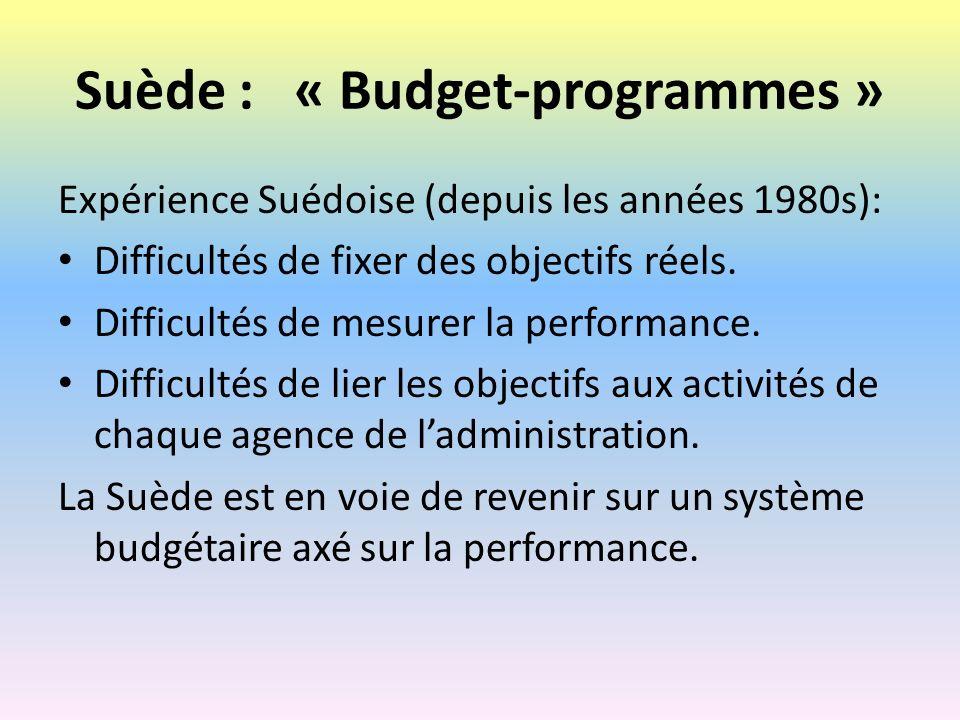 Plateforme 3 : Budget axé sur la performance -- CDMT par programme Quelle progressivité.