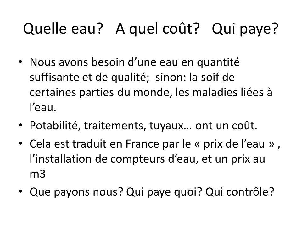 Quest ce que le « modèle français de leau.