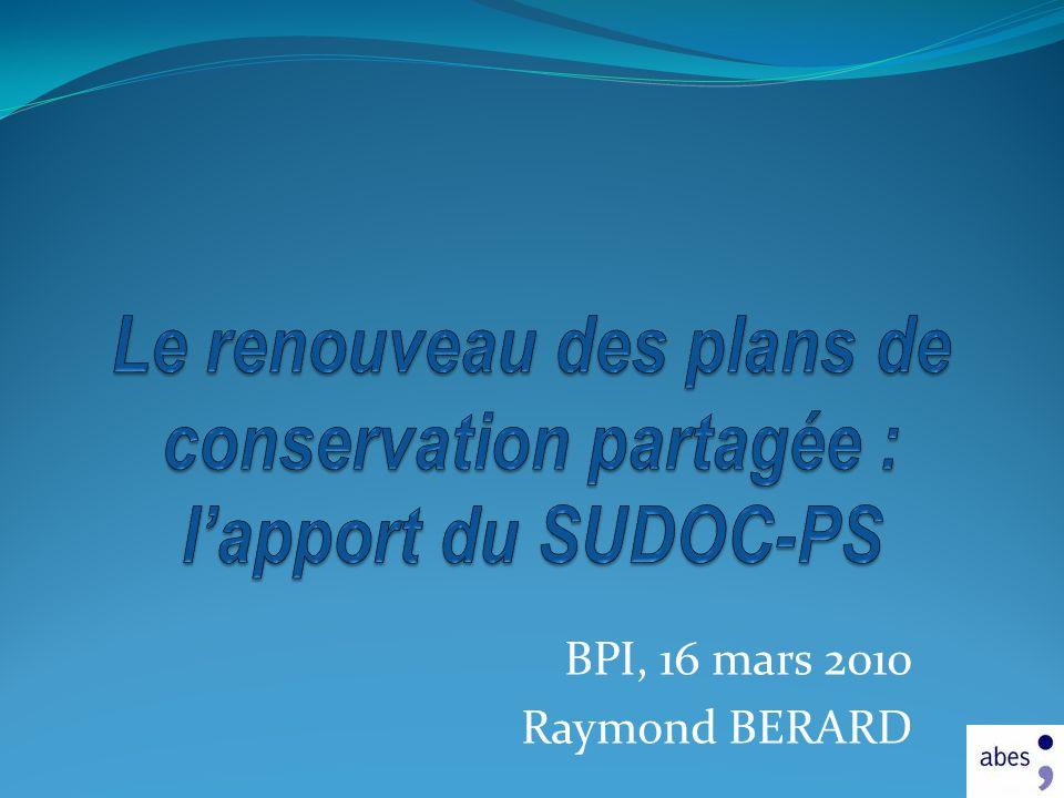 BPI, 16 mars 2010 Raymond BERARD J