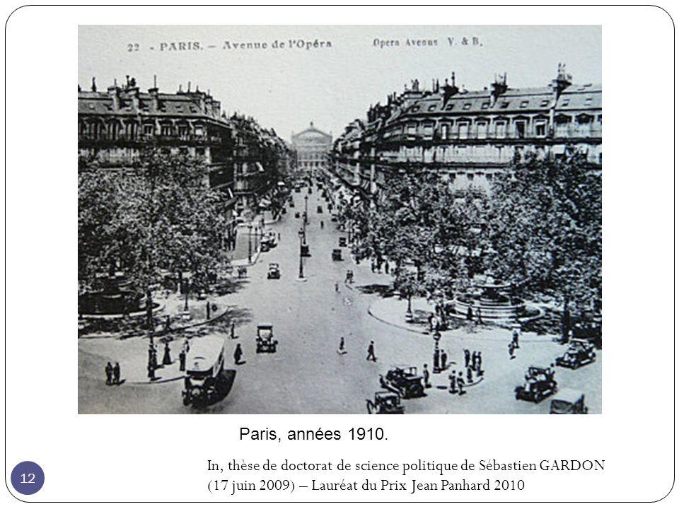 Paris, années 1910.