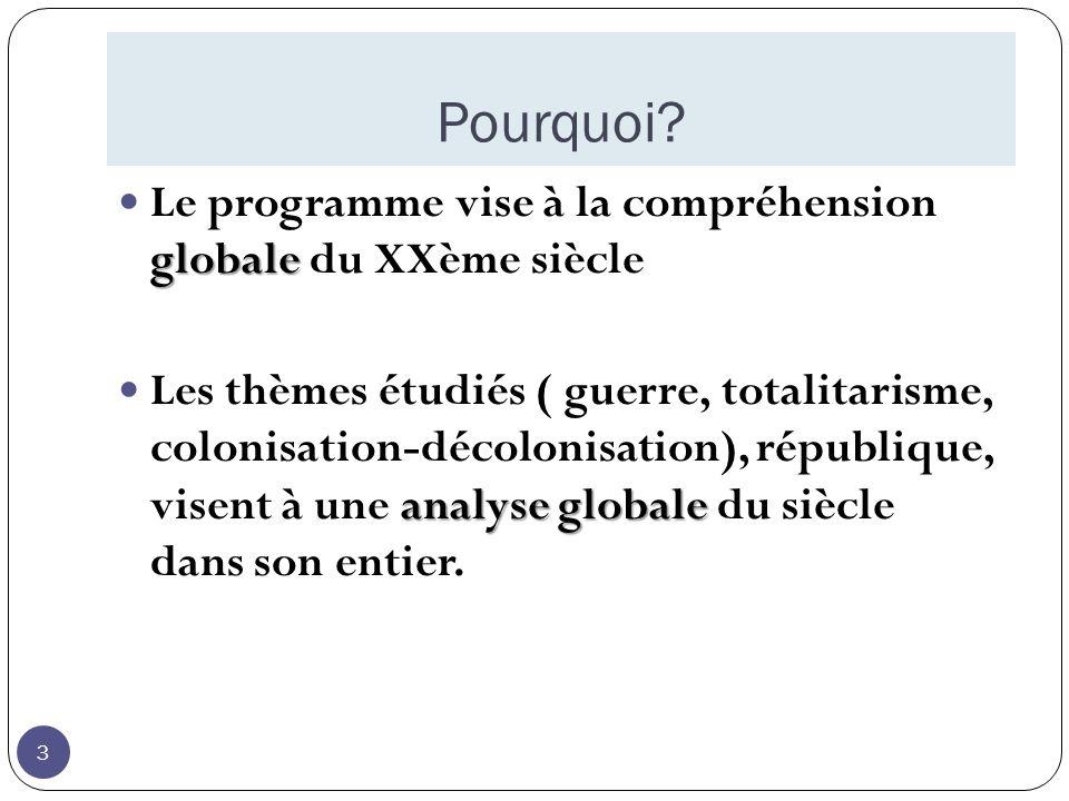 Thème 1 : Croissance économique, mondialisation et mutations des sociétés depuis le milieu du 19 ème.
