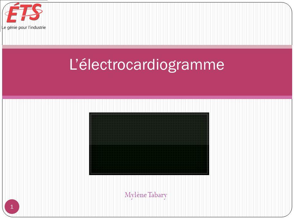Mylène Tabary Lélectrocardiogramme 1
