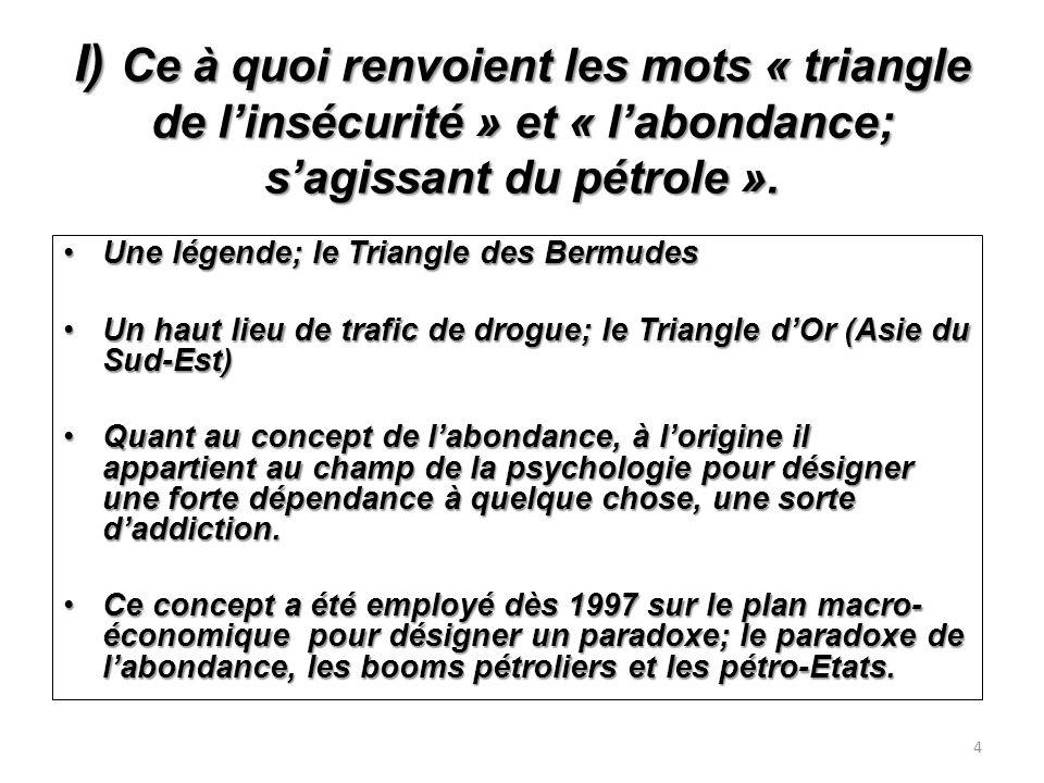 Les effets induits de ces deux types de paradoxe de labondance Les effets induits de ces deux types de paradoxe de labondance.