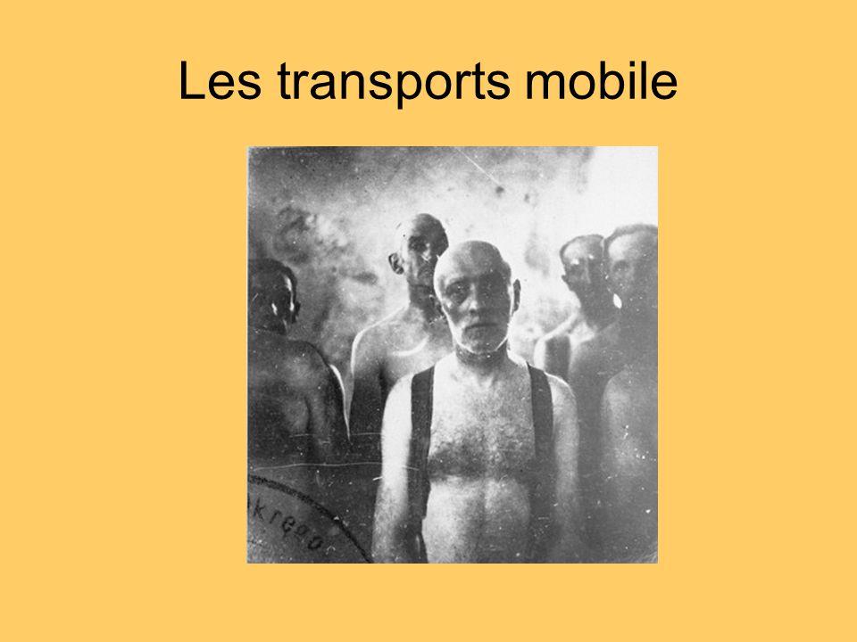 Les transports mobile