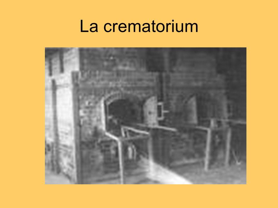 La crematorium