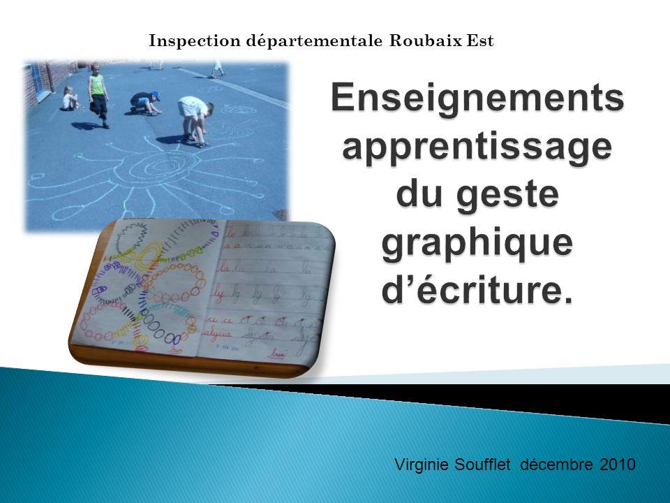 Inspection départementale Roubaix Est Virginie Soufflet décembre 2010