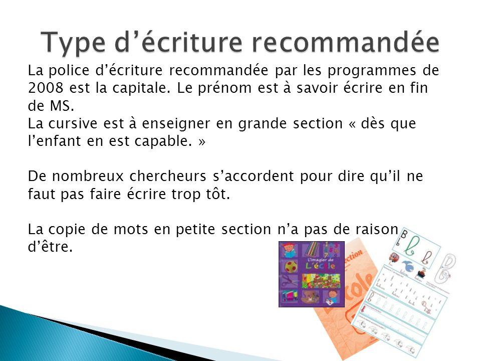 Lécriture script devrait être réservée à lécriture de lordinateur et aux documents imprimés.