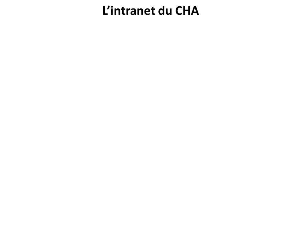 Lintranet du CHA