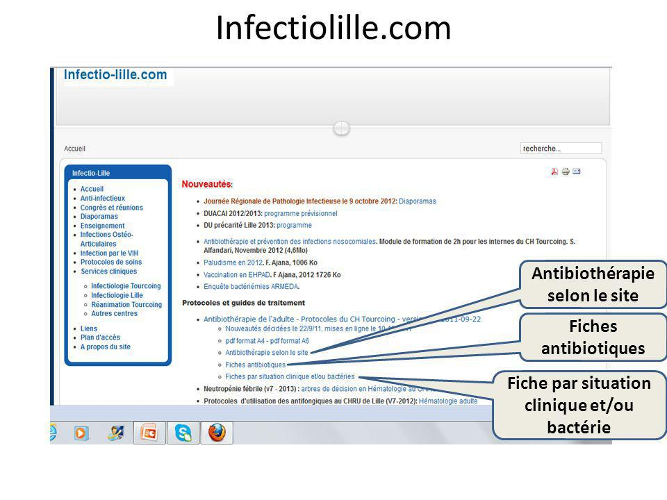 infectiologie.com Consensus et recommandations