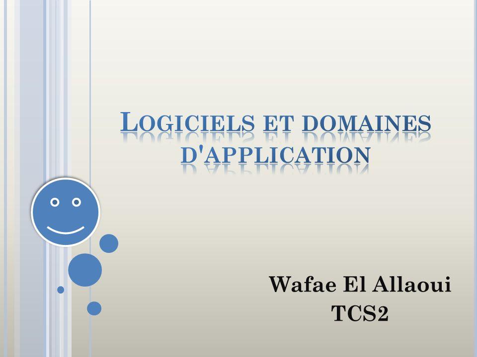 L OGICIELS ET DOMAINES D APPLICATION I.LOGICIELS : 1) Définition 2)Logiciels de base 3) Logiciels dapplication II.DOMAINES DAPPLICATION DE LINFORMATIQUE: 1) Domaine de gestion 2) Domaine industriel 3)Domaine scientifique 4) Domaine de léducation