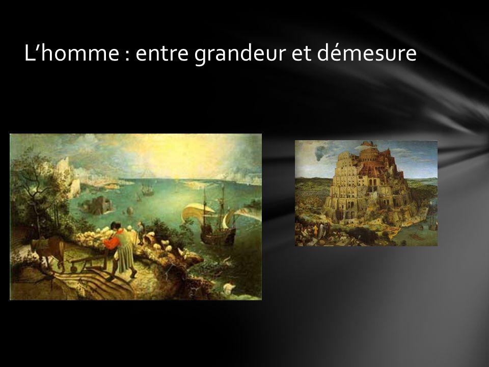 Bruegel : Proverbes : détail : « le monde à lenvers » Éloge de la folie : fous riant de la folie des autres plutôt que de la leur Dans les Proverbes, le monde à lenvers