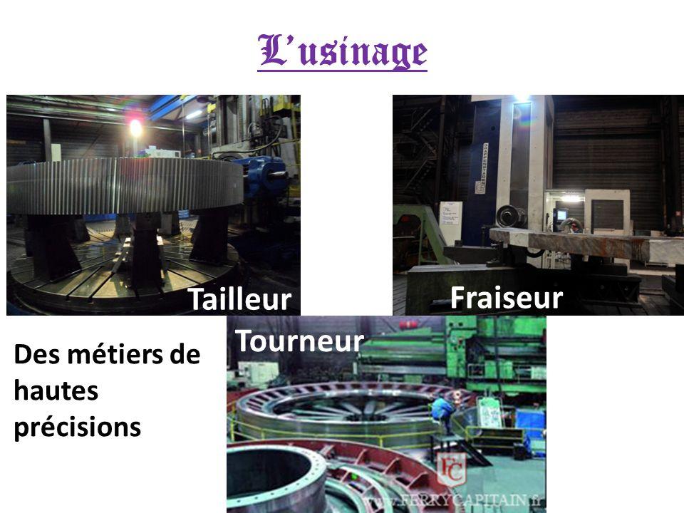 Lusinage Fraiseur Tailleur Tourneur Des métiers de hautes précisions